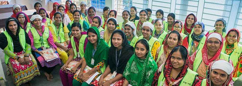 Leading the way in supporting women workers